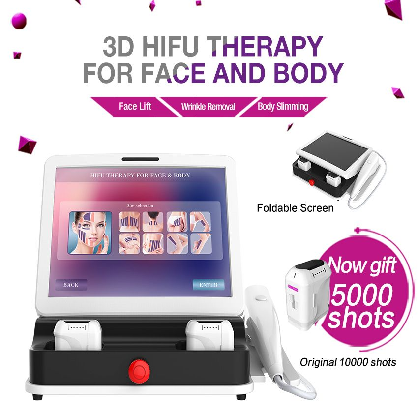 Factory Price Body Slimming Facelift Best Hifu Machine for Sale