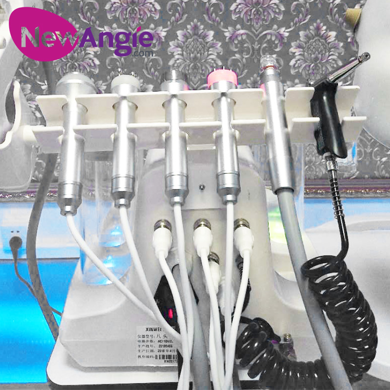 8 in 1 Skin Care oxygen jet peel water facial machine for sale SPA17